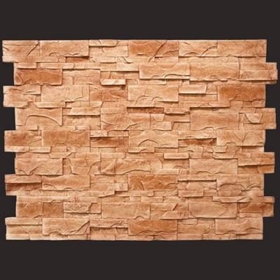 Laja rústica rojo panel de poliuretano