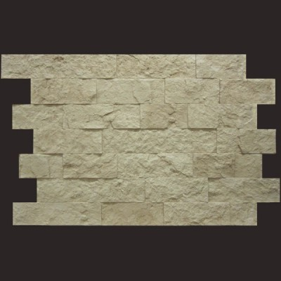 Piedra Navarra blanco panel de poliuretano