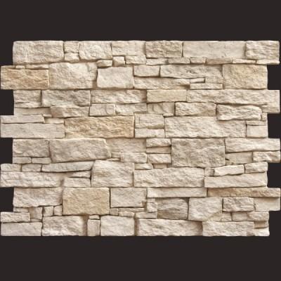 Piedra Teruel blanco panel de poliuretano