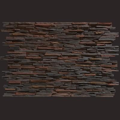 Laja fina multicolor panel de poliuretano