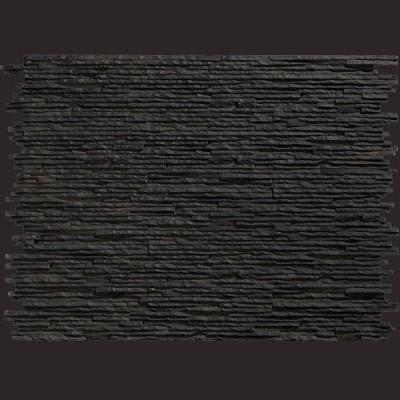 Laja Valladoliz negro panel de poliuretano