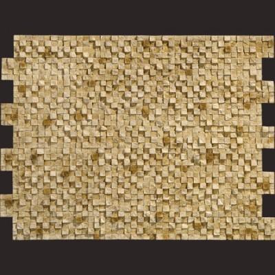 Piedra de Burgos ocre panel de poliuretano