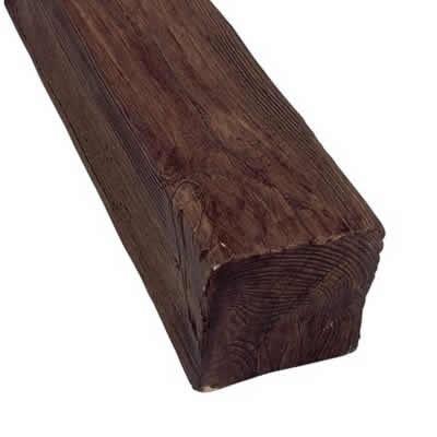10 cm x 10 cm x 3 m Viga de poliuretano rectangular