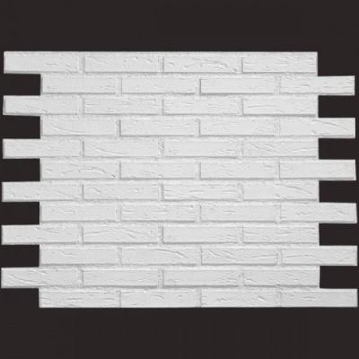 Ladrillo NUEVO BLANCO 9016 panel de poliuretano