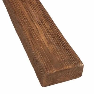 10 cm x 5 cm x 3 m Viga de poliuretano rectangular