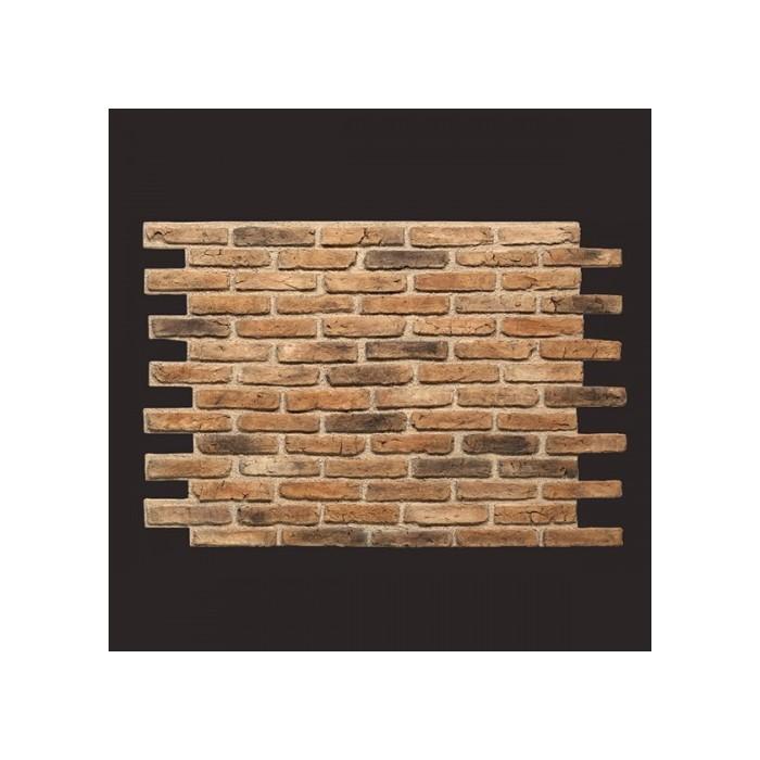 Ladrillo Rustik Brick MARON panel de poliuretano