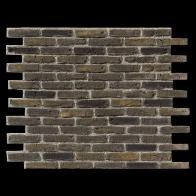 Ladrillo Rustik Brick GRIS NEGRO panel de poliuretano