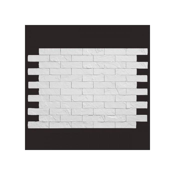 Ladrillo santander BLANCO 9016 panel de poliuretano