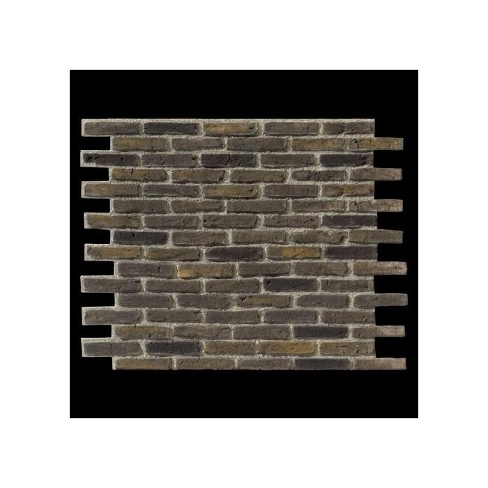 Ladrillo URBAN BRICK gris negro panel de poliuretano