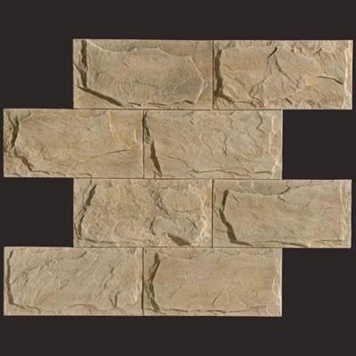 Piedra de Cantabria blanco  panel de poliuretano