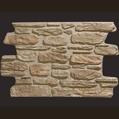 Piedra de Galicia gris musgo panel de poliuretano
