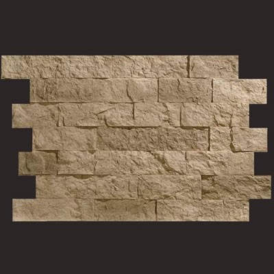 Piedra Navarra gris panel de poliuretano