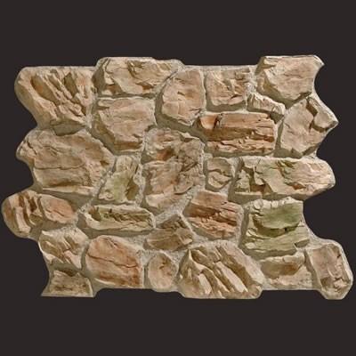 Piedra de Oviedo gris musgo panel de poliuretano