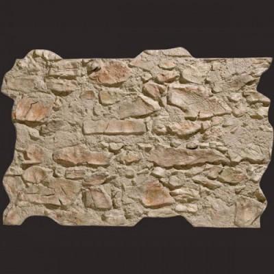 Piedra de Segovia gris musgo panel de poliuretano