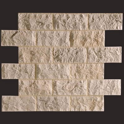 Piedra Travertino blanco panel de poliuretano