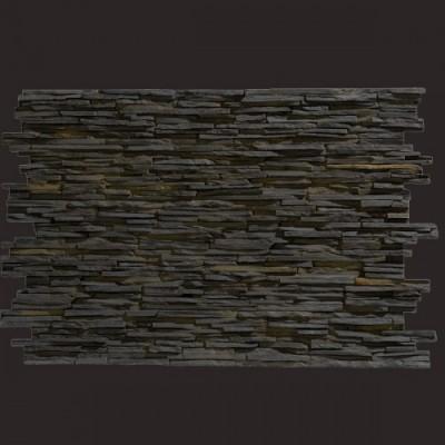 Laja fina negra panel de poliuretano