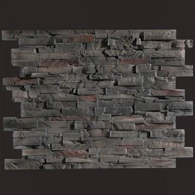 Laja pizarra marron panel de poliuretano