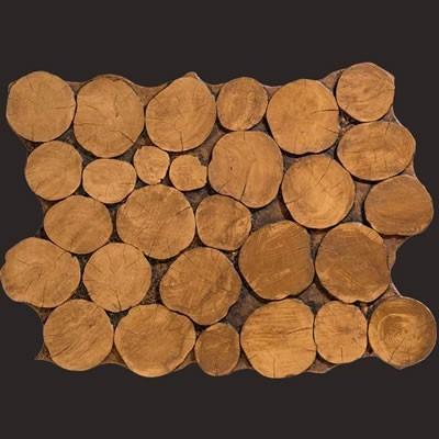 Madera troncos panel de poliuretano