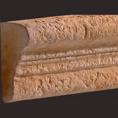 Moldura barra ancha de poliuretano