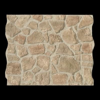 Piedra de Cuenca gris musgo panel de poliuretano