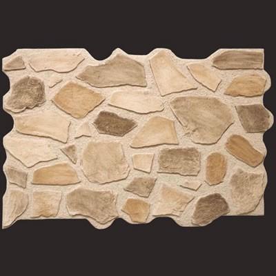 Piedra marrón panel de poliuretano