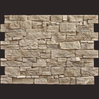 Piedra Teruel gris panel de poliuretano