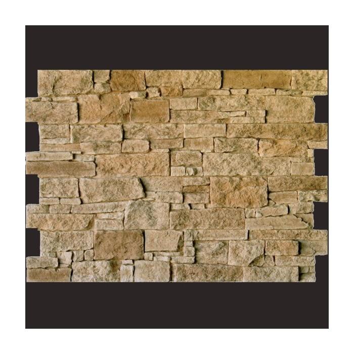 Piedra Teruel marron panel de poliuretano