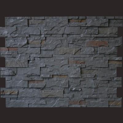 Laja rústica gris panel de poliuretano