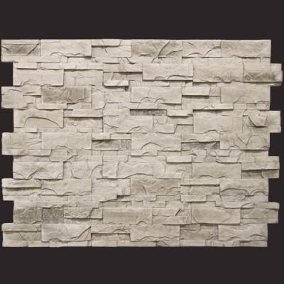 Laja rústica ceniza panel de poliuretano