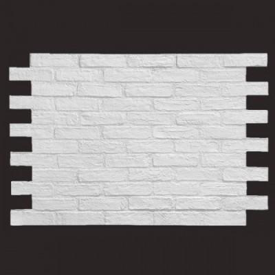 Ladrillo caravista blanco 9016 panel de poliuretano