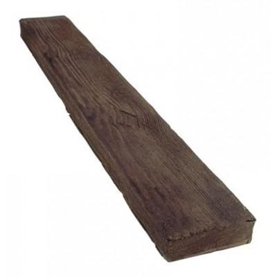 12,5 cm x 4 cm x 3 m Viga de poliuretano rectangular