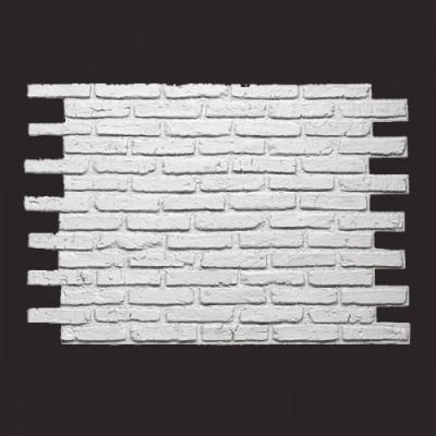 Ladrillo Rustik Brick BLANCO 9016 panel de poliuretano