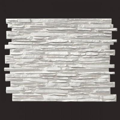 Laja Pirineos blanco 9016 panel de poliuretano