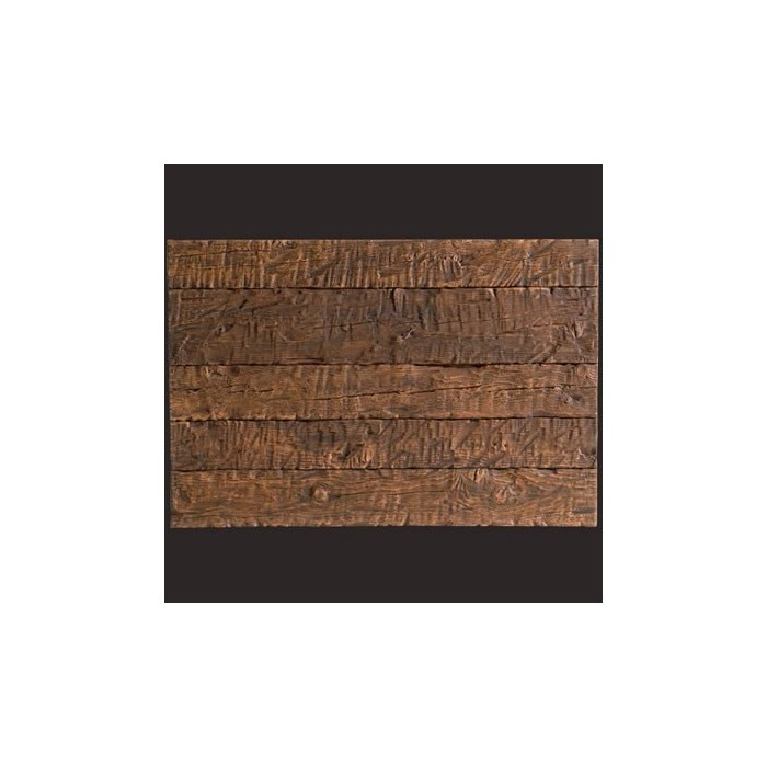 Tabla rústica nogal panel de poliuretano