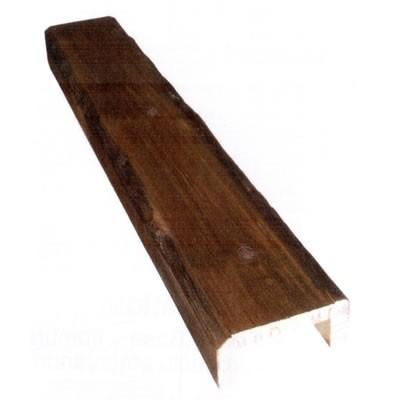19,5 x 5 x 3 m Viga hueca de madera envejecida