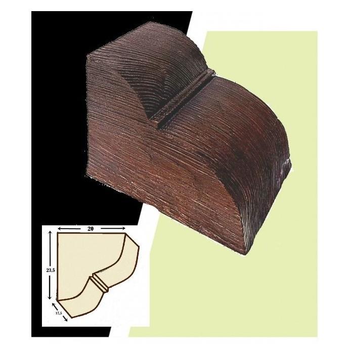 20 cm x 17.5 cm x 23.5 cm Mensula de poliuretano