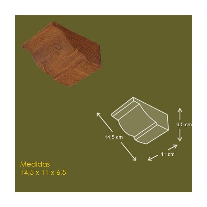 14,5 cm x 11 cm x 6,5 cm Mensula de poliuretano