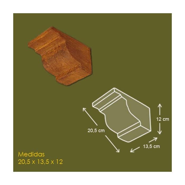 20,5 cm x 13,5 cm x 12 cm Mensula de poliuretano